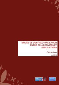 Modes de contractualisation, couverture du document