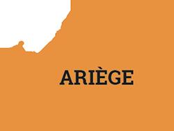 Localisation du département de l'Ariège : dans le sud de la France