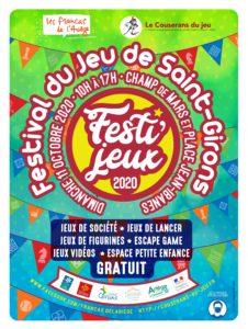 Festival du jeu de société de Saint-Girons 2020