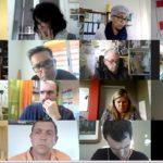 portrait des participants à la visioconférence