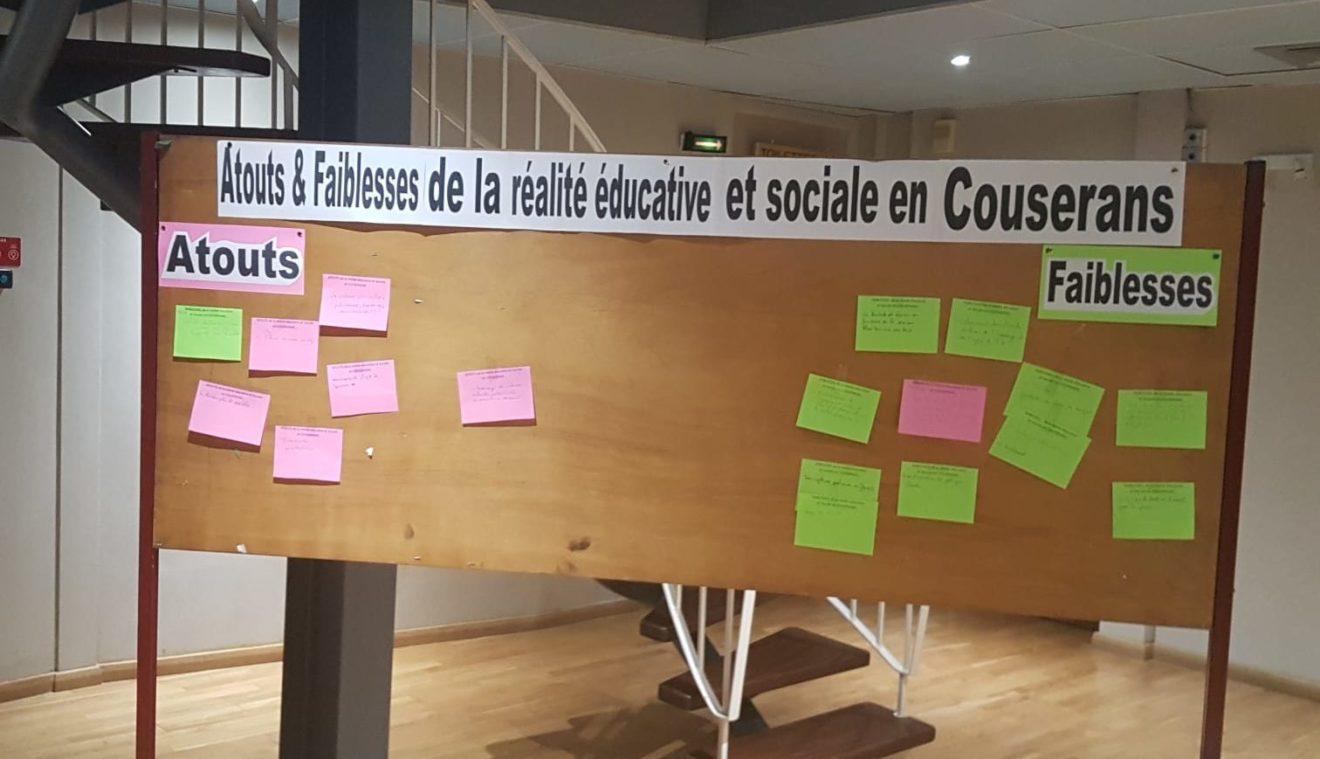 Le projet d'éducation se met en vie en Couserans